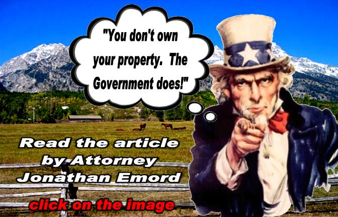 Does Government Own Your Property?