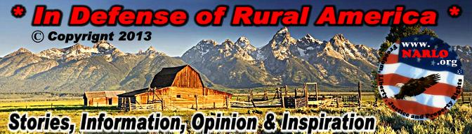 In Defense of Rural America!