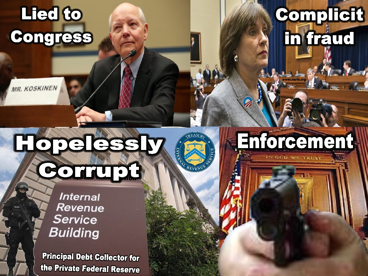 Corrupt IRS=