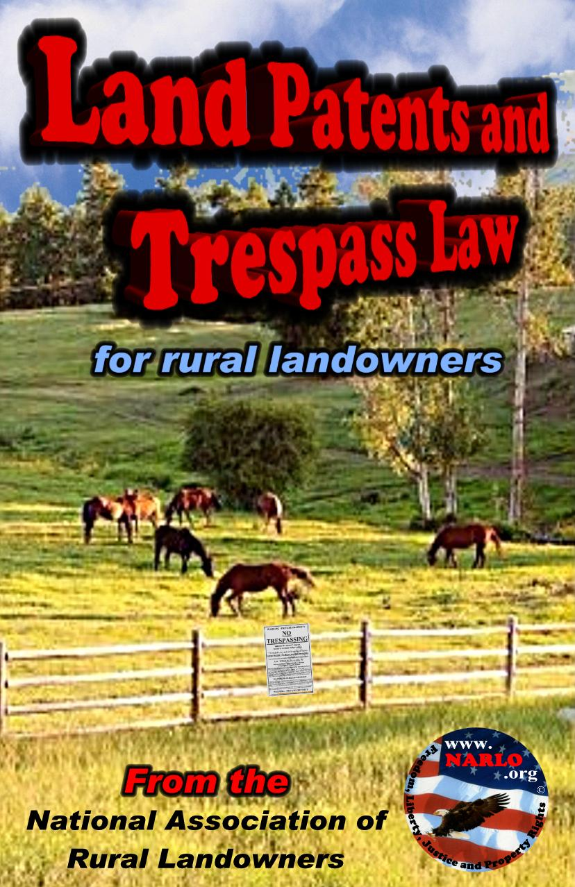 Land Patents and Trespass Law