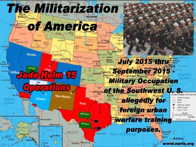 Militarization of America=