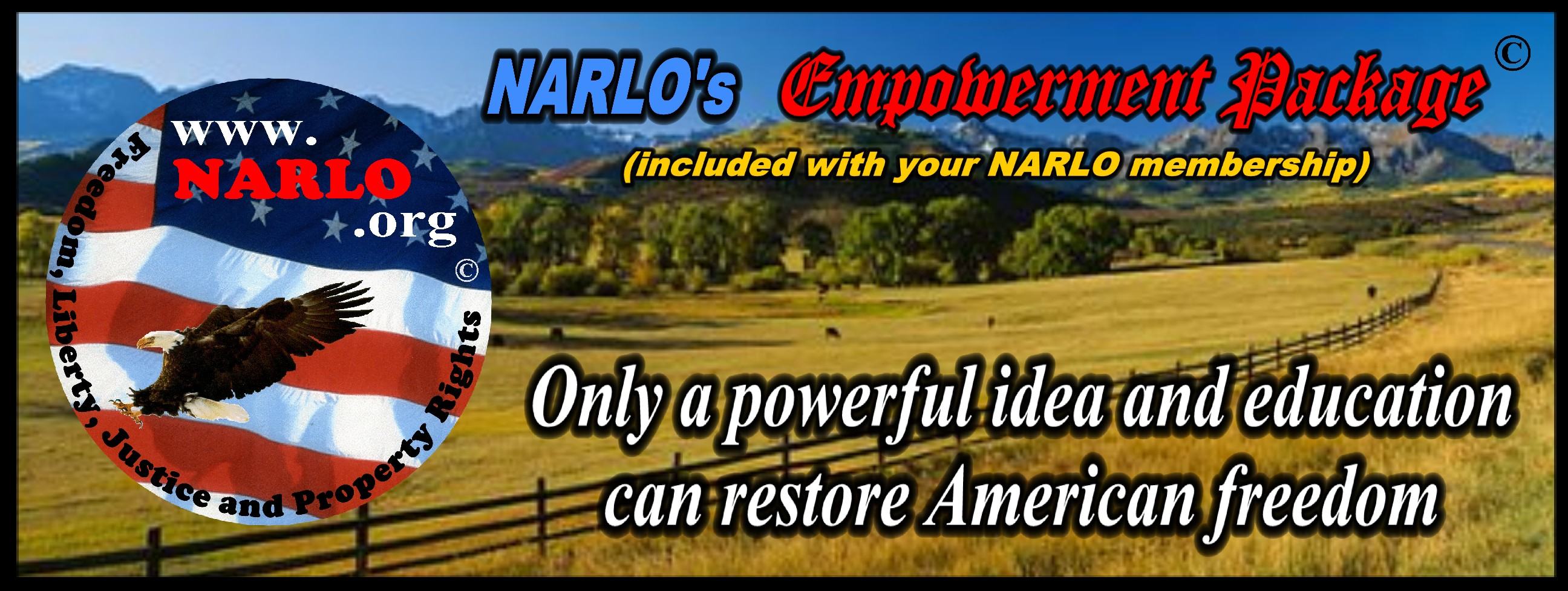 NARLO Empowerment Package