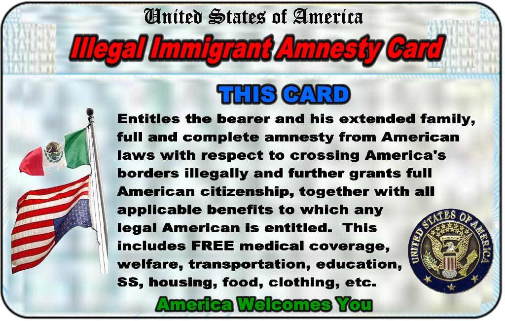 Amnesty Card=