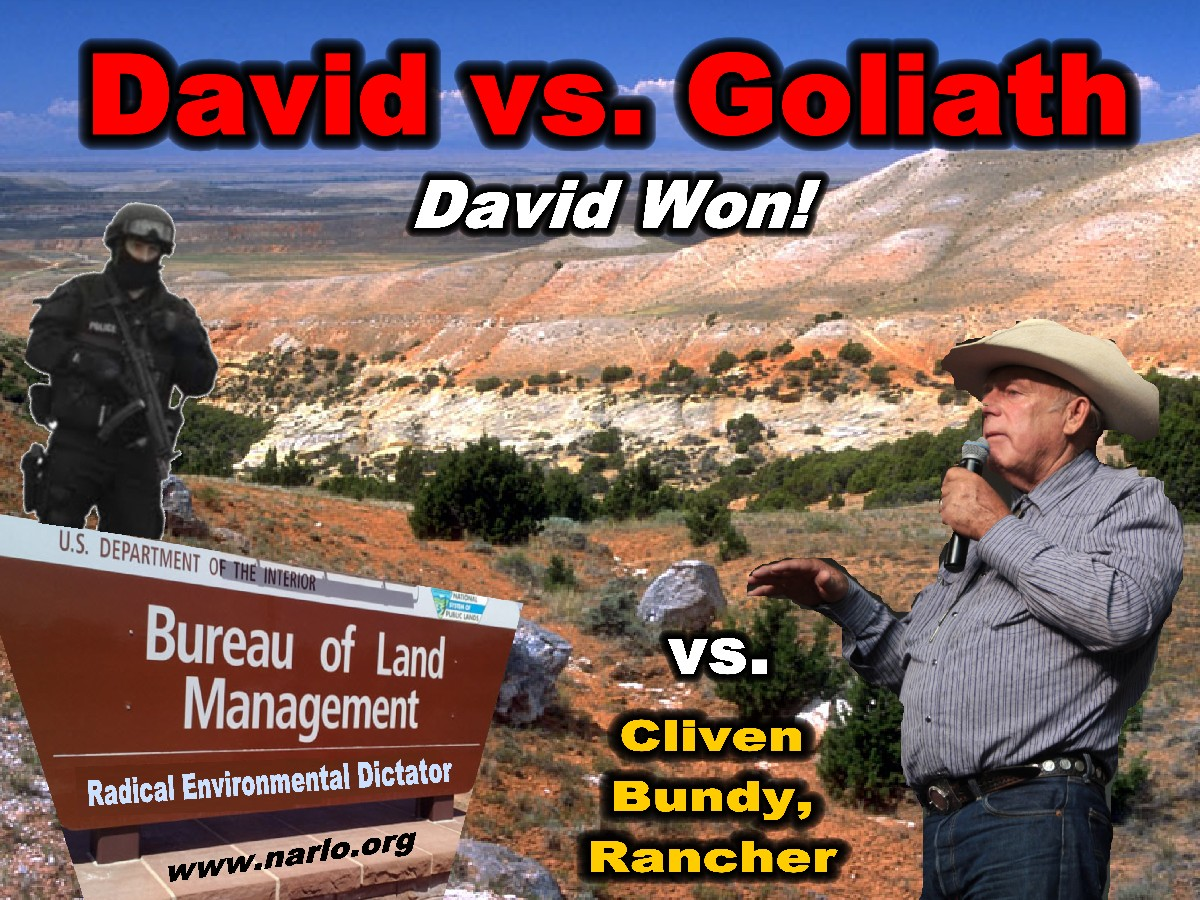 Bundy and the BLM=