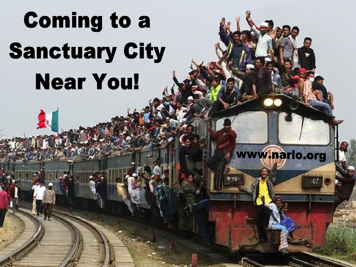 Coming to a sanctuary city=