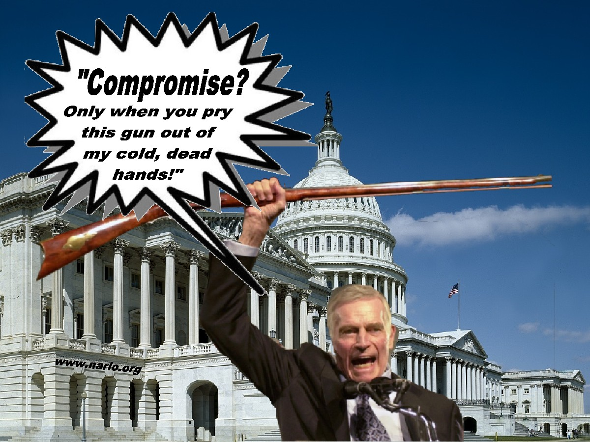 Never Compromise With A Democrat=