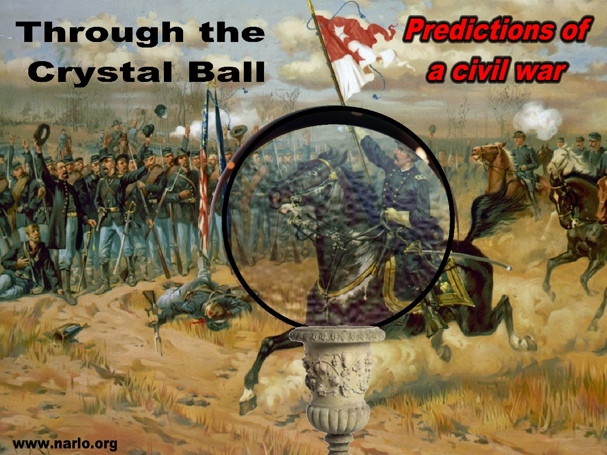 War through a crystal ball=