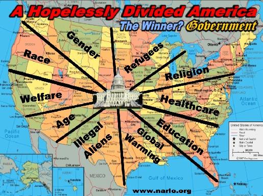 Divided America=