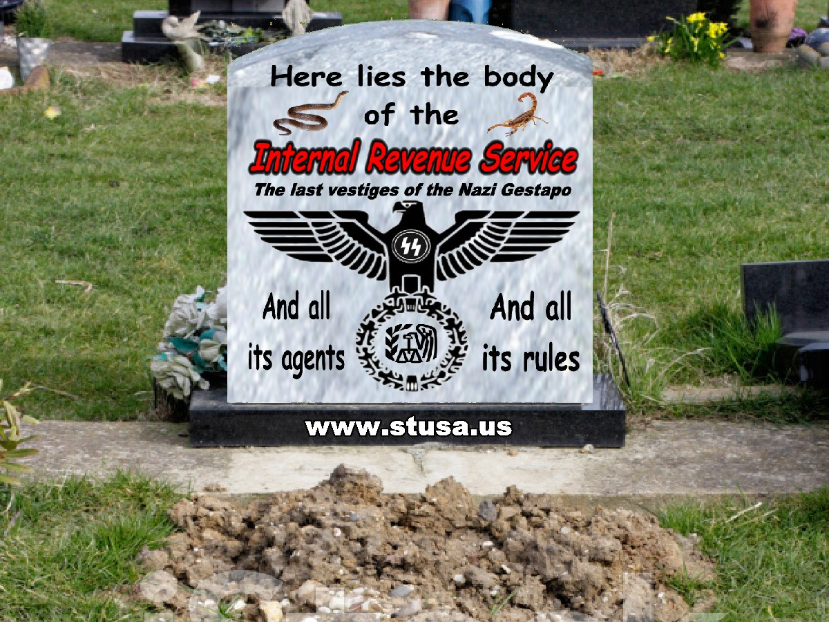 Here Lies the IRS=