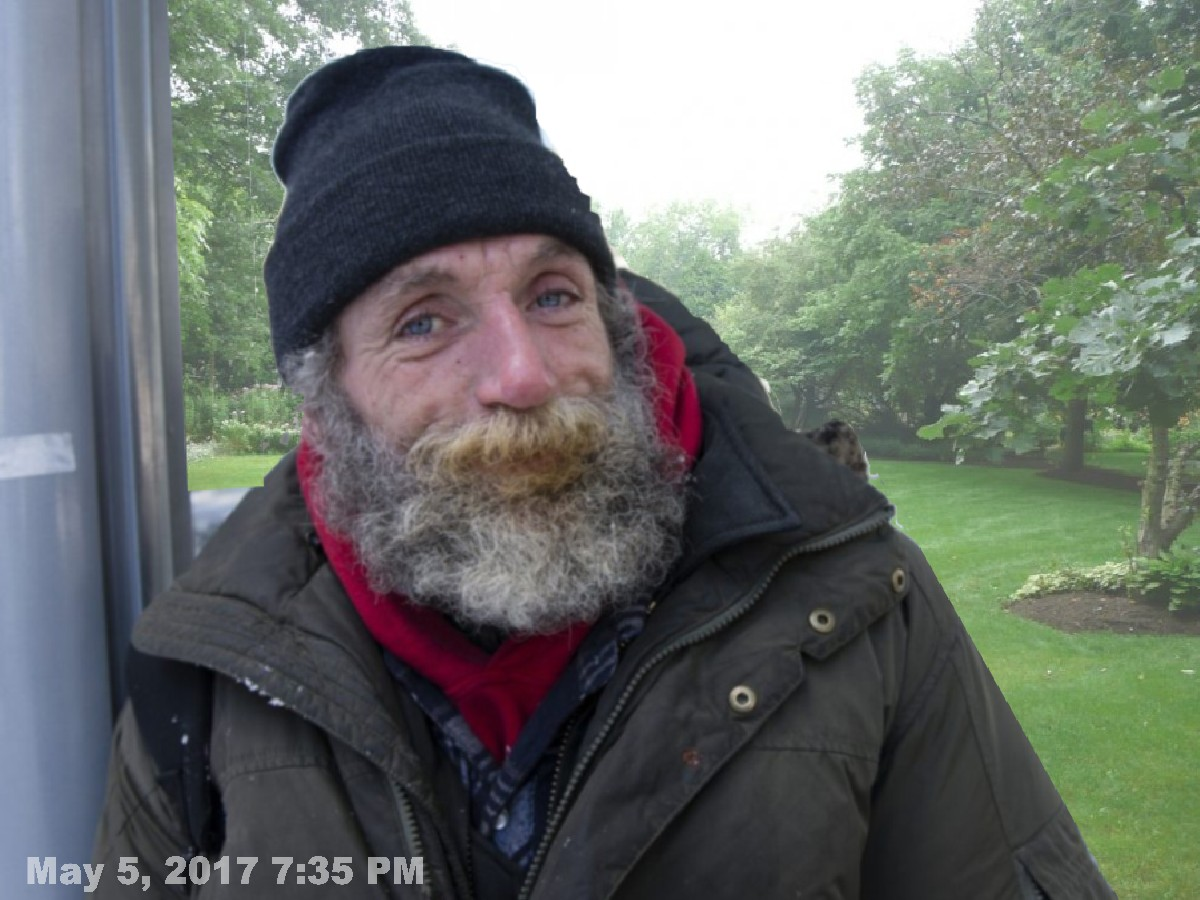 Homeless Man=