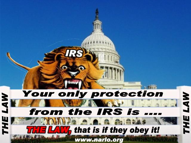 IRS and the Law=