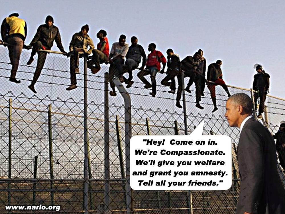 Obama's Illegal Aliens=