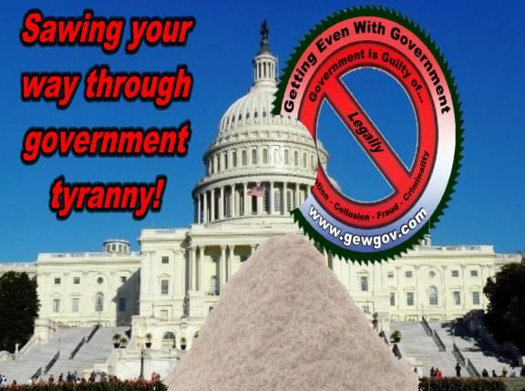Sawing Through Tyranny=