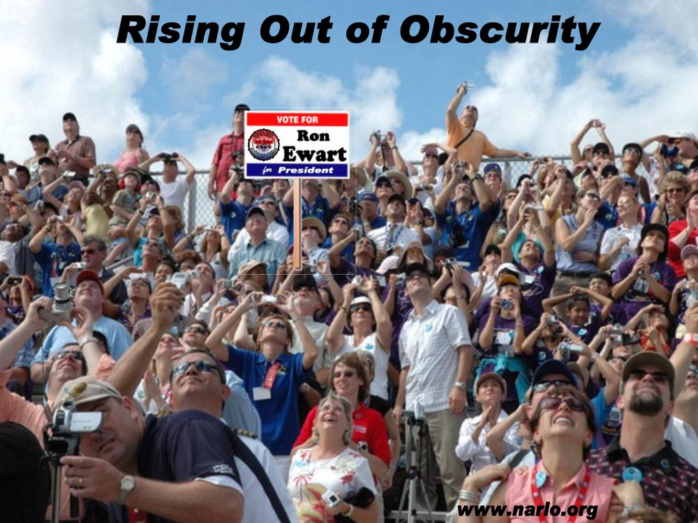 Rising Out of Obscurity=
