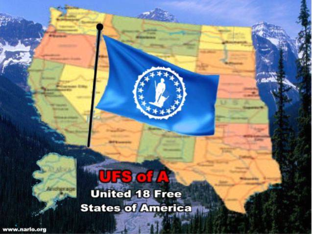 UFSA Map and Flag