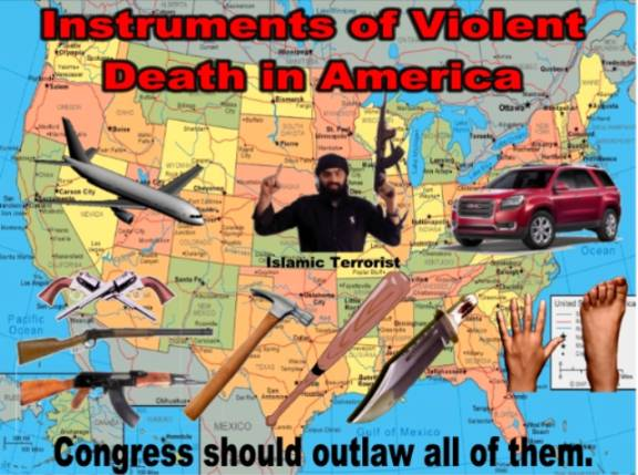 Violent Deaths in America=